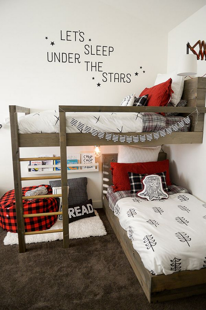 wood twin bunk beds-standard twin mattress size-twin bed frame dimensions