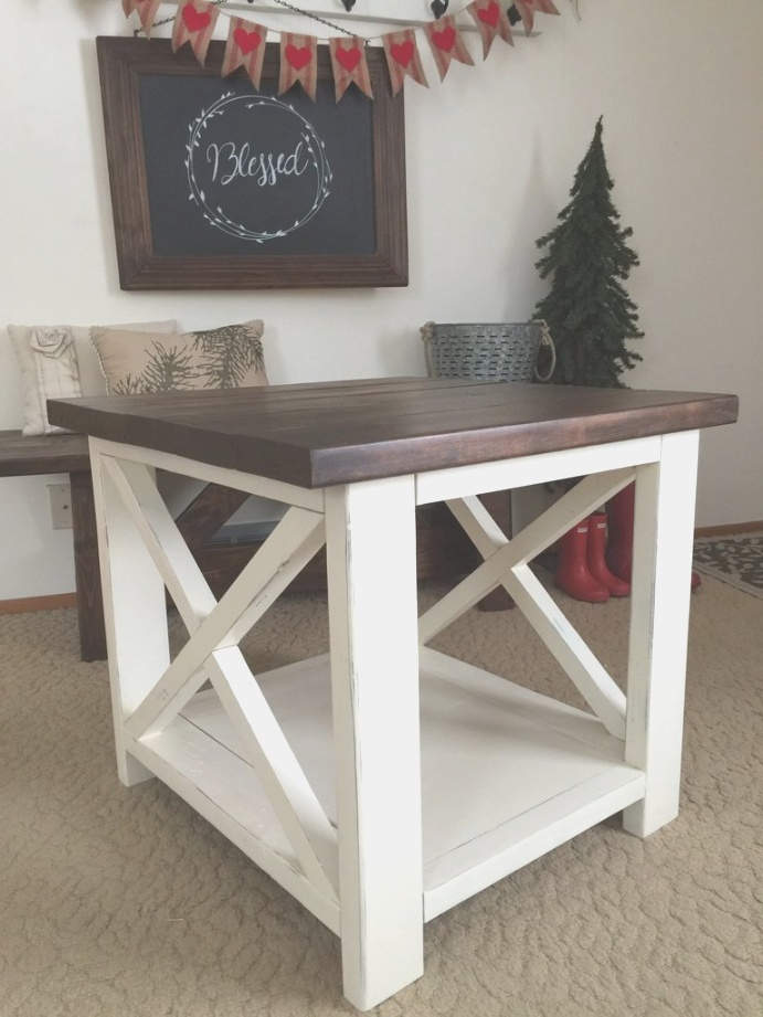farmhouse end table | Farmhouse End Table – Alex in Aurora | farmhouse end table