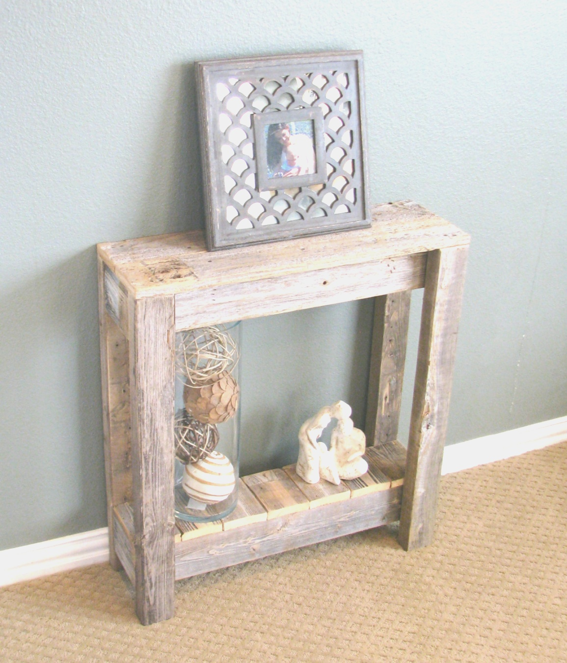 farmhouse end table | Natural Farmhouse End Table | farmhouse end table