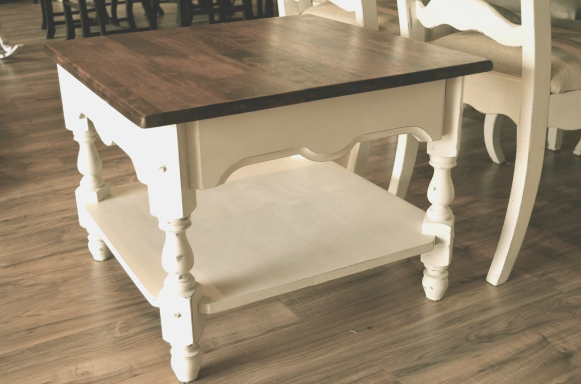 farmhouse end table | French Farmhouse End Table/Nightstand | The Workshop | farmhouse end table
