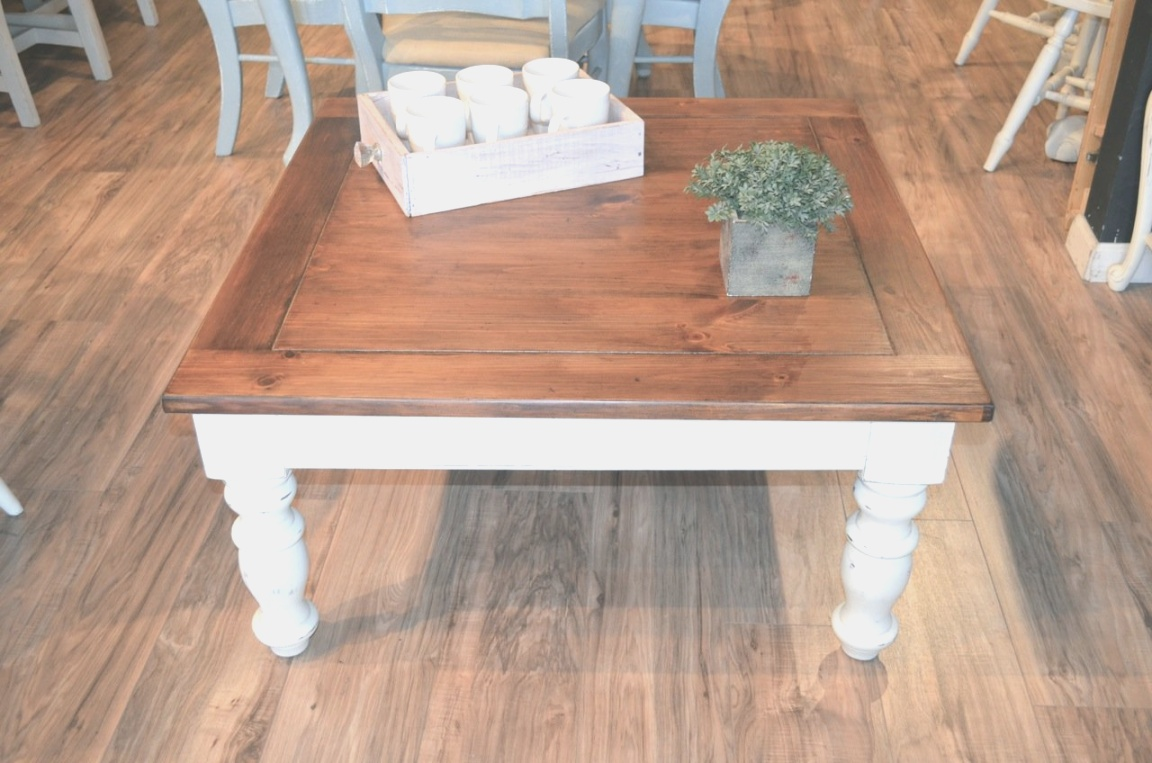 farmhouse end table | Farmhouse Coffee Table and 1 End Table | The Workshop | farmhouse end table