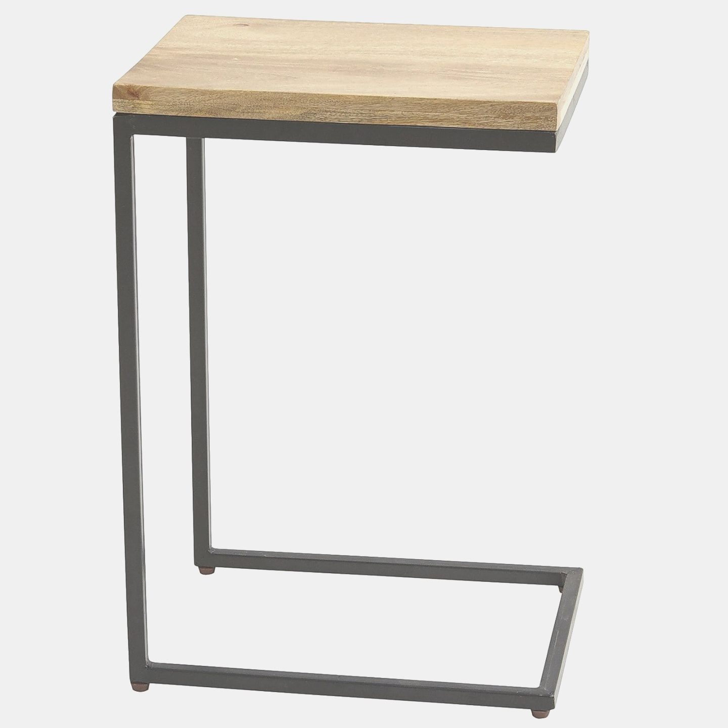 c side table | Takat Natural Mango Wood C-Table | Pier 1 Imports | c side table