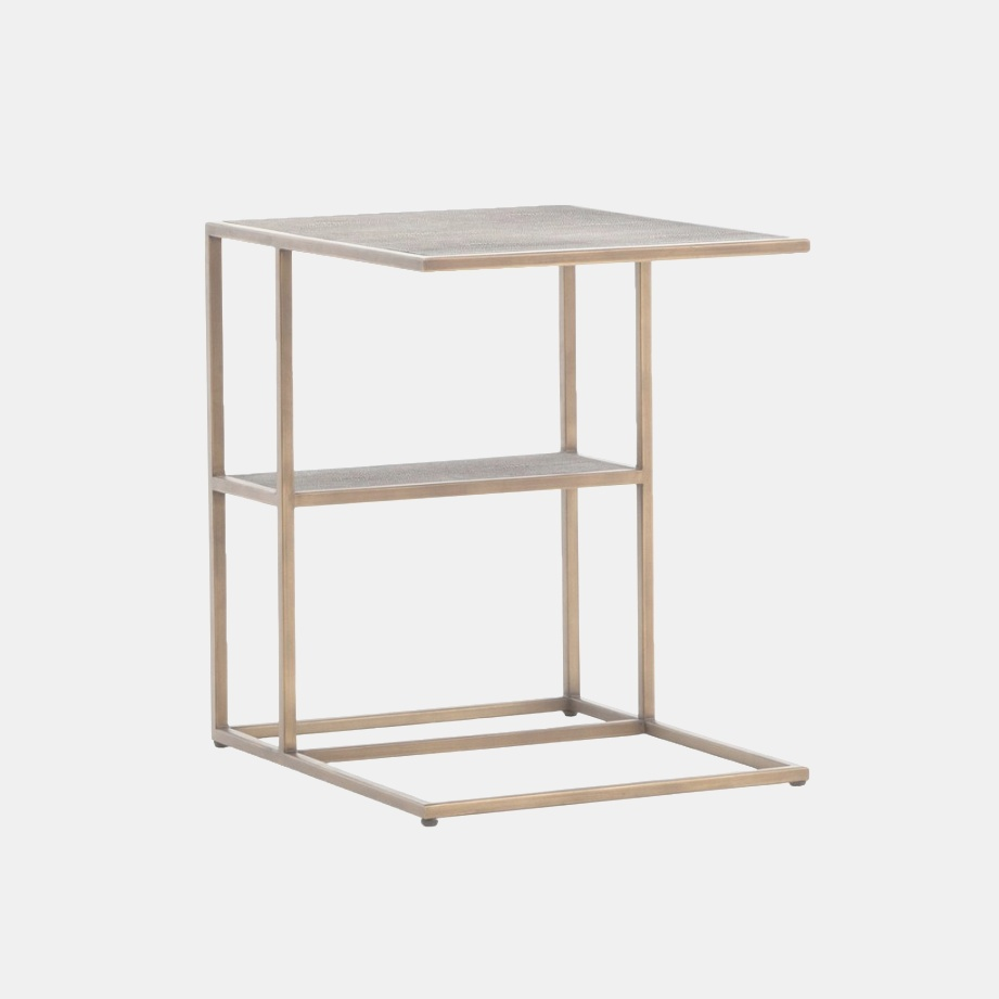 c side table | SHAGREEN C Side Table – LD Shoppe | c side table