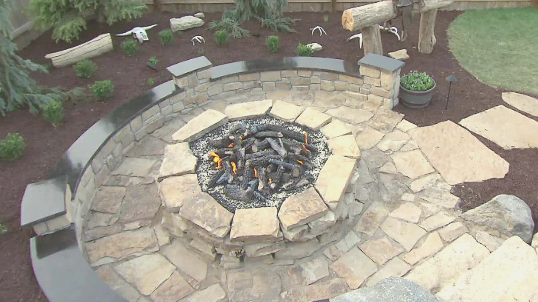 diy fire pit | how to build a stone fire pit | DIY | diy fire pit