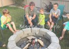 How to Build a DIY Fire Pit for Only $60   Keeping it Simple Crafts | diy fire pit