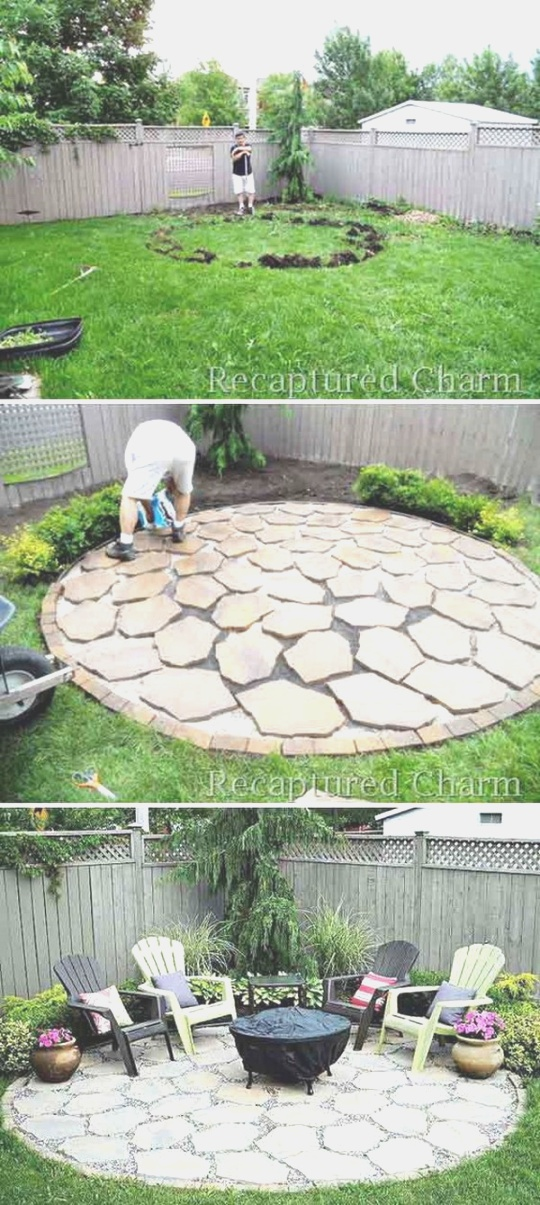 diy fire pit | 20 DIY Fire Pits for Your Backyard with Tutorials - Listing More | diy fire pit