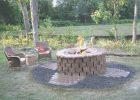 Brick Fire Pit Design Ideas   HGTV   fire pit designs