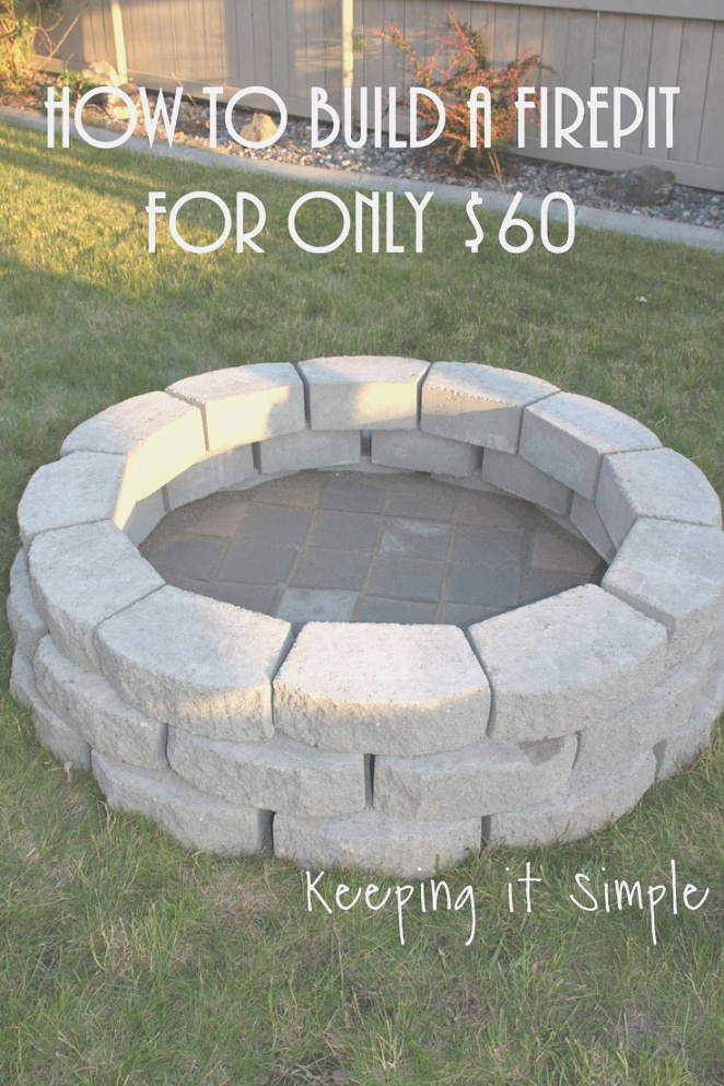 fire pit designs | Best Diy Fire Pit Project Ideas Page Of Easy On Pinterest Pits ..