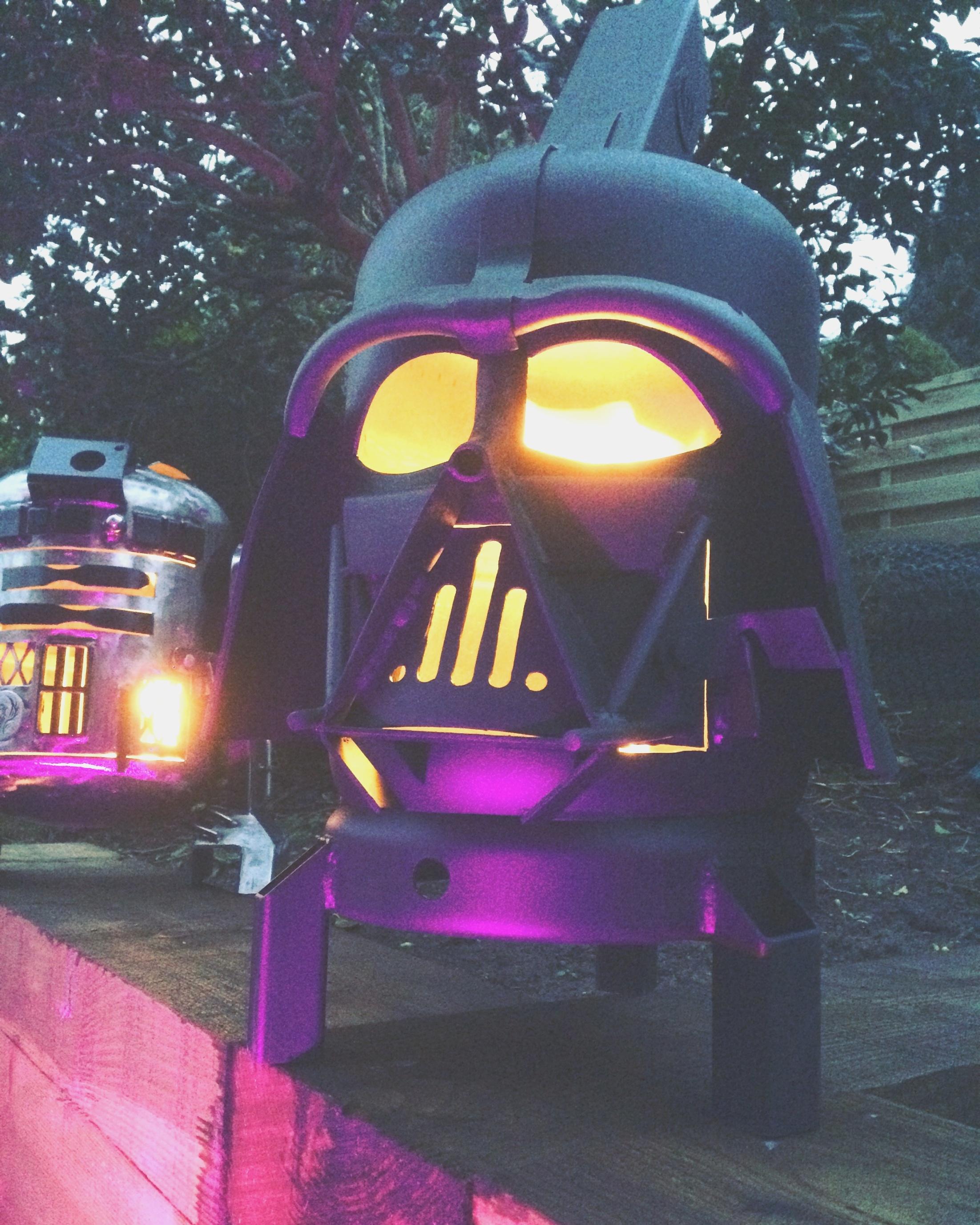 darth vader fire pit | Darth Vader Wood Burner | darth vader fire pit