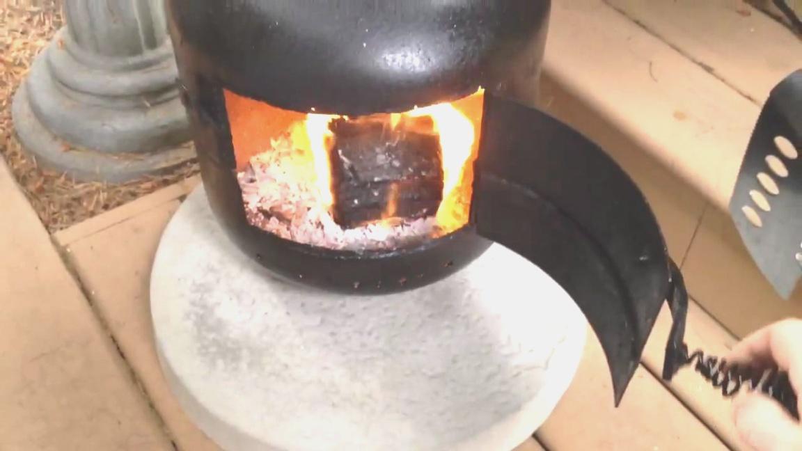 propane tank fire pit | Propane tank fire pit - YouTube | propane tank fire pit