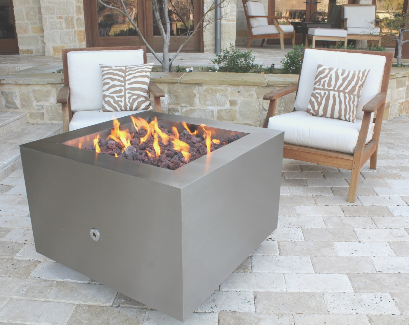 propane tank fire pit | Stainless Steel Fire Pit | Gas Fire Pits | Hidden Tank Fire Pits ..