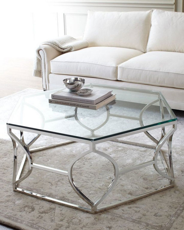 Here Are Types of Materials for Hexagon Coffee Table