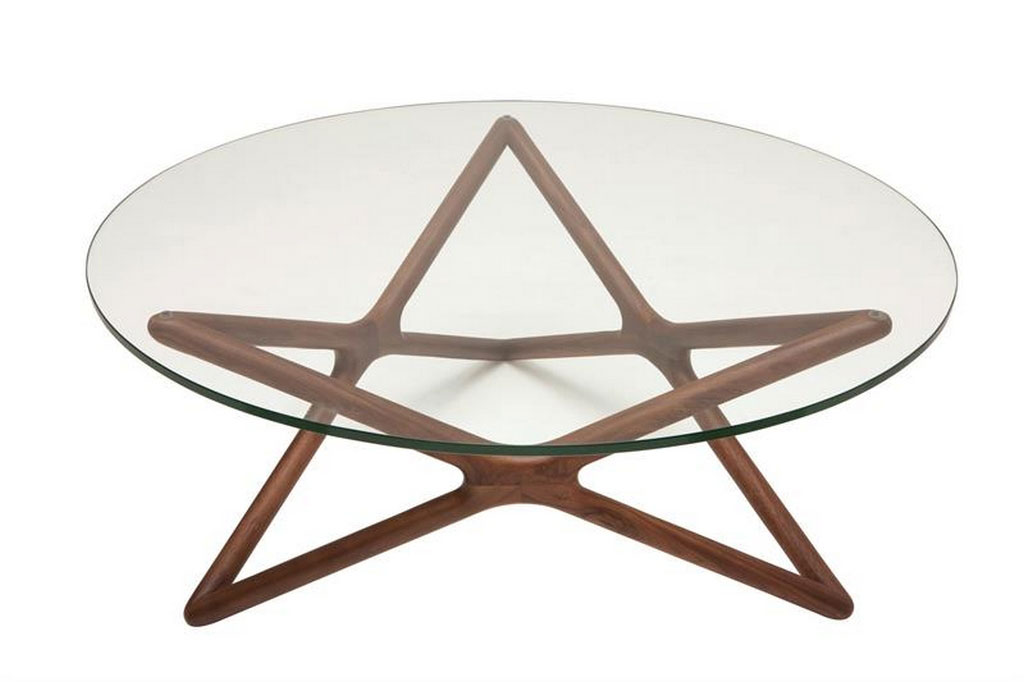 Get to Know the Right Types of Round Glass Coffee Table