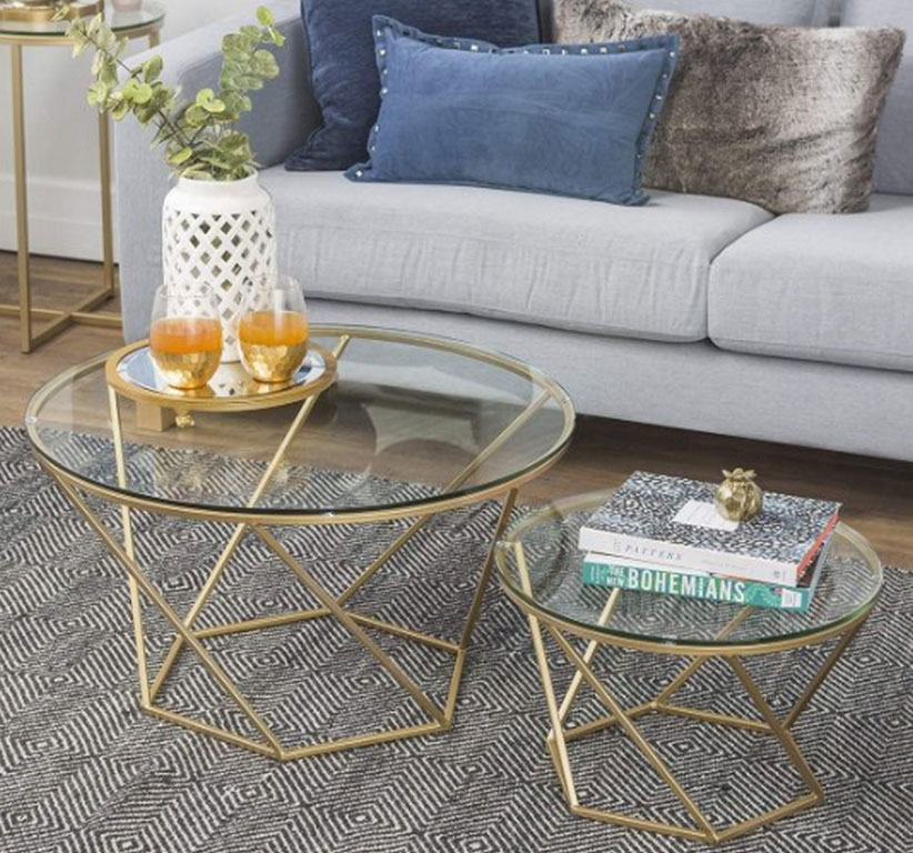 5 Round Metal Coffee Table to Boost Your Living Room Appeal