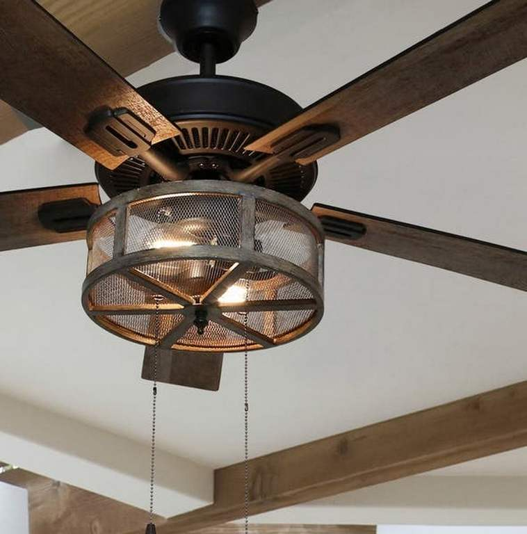 Ceiling Fan Farmhouse Design To Bring Vintage Style