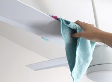 How to Clean Ceiling Fan Blades Without Any Problems