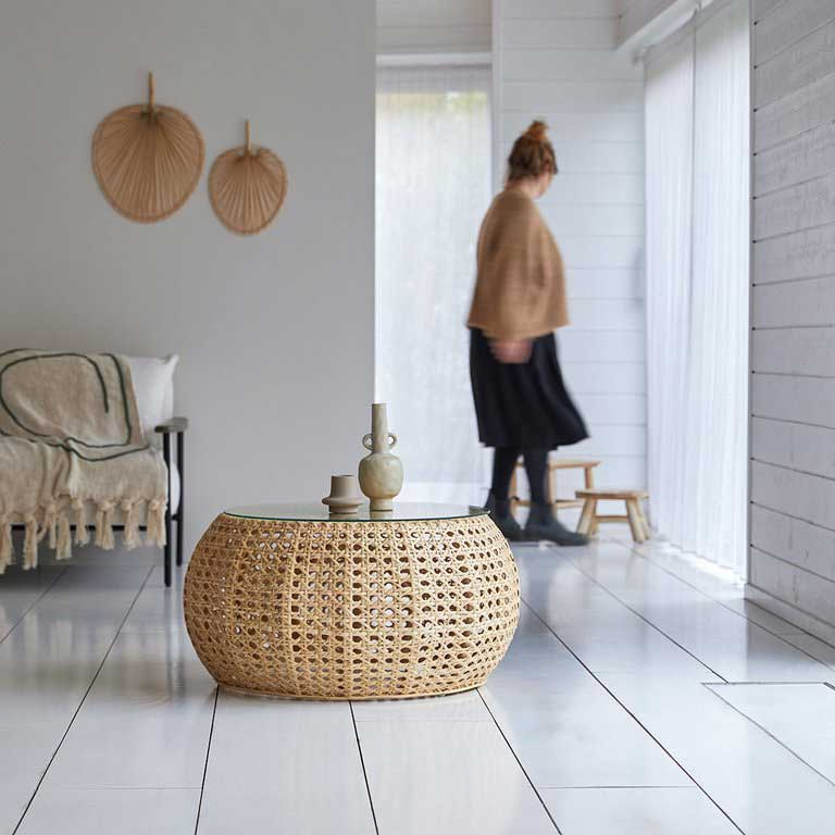 Wicker Coffee Table Ideas with Glass Top You Should Know